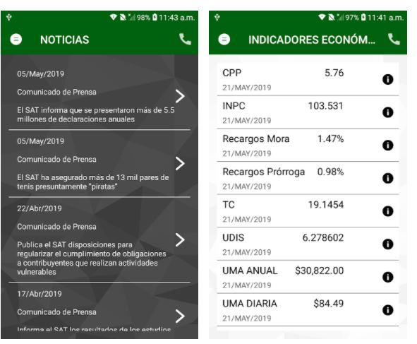 app del sat celular