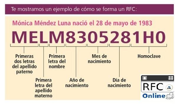 ejemplo de rfc