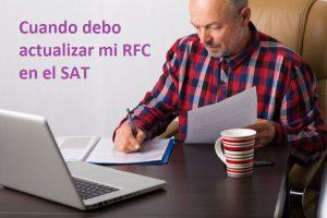Actualizar el RFC