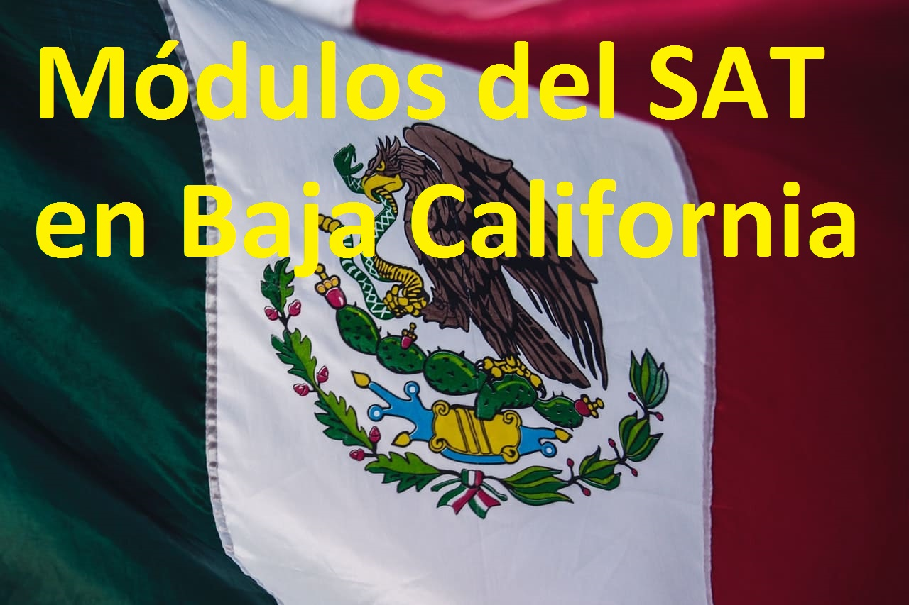Sacar cita en el SAT Baja California