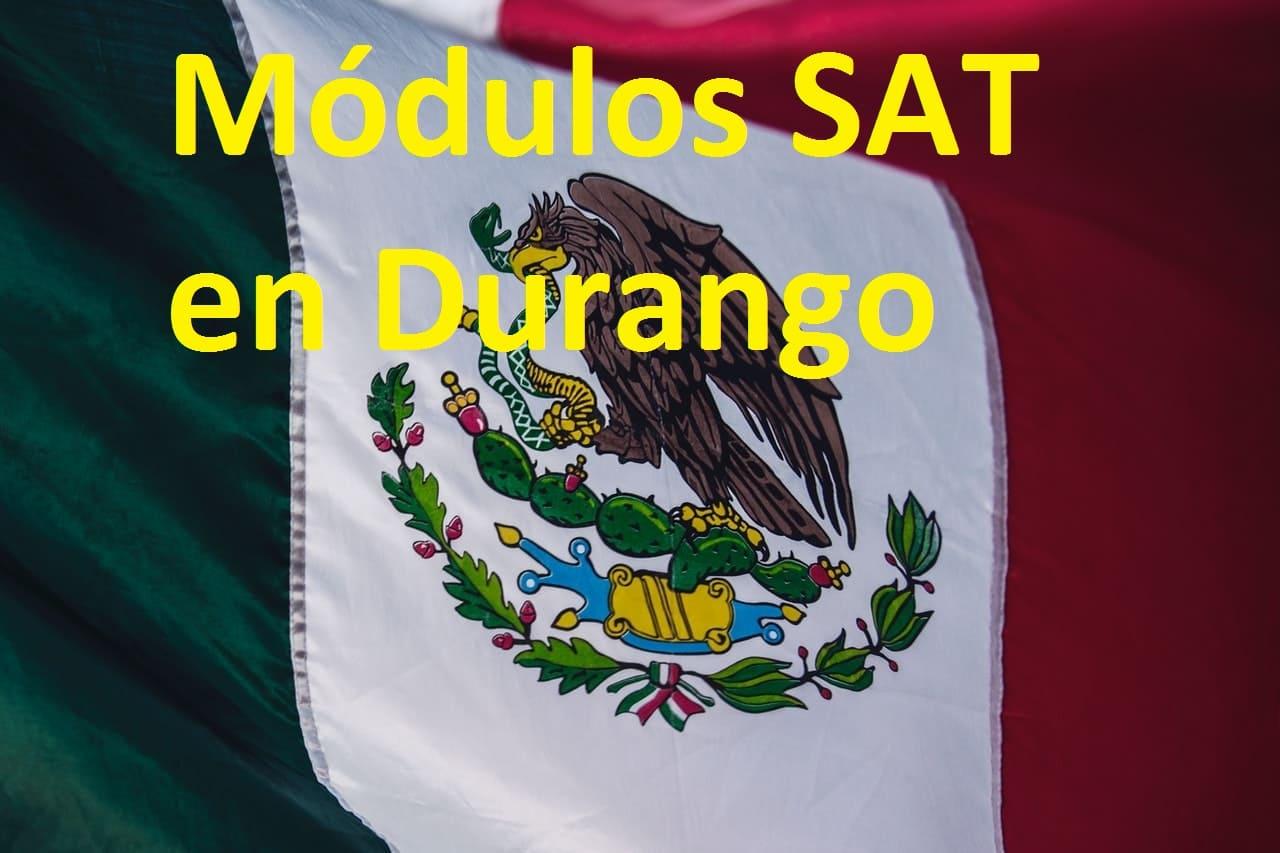 Sacar cita en el SAT Durango