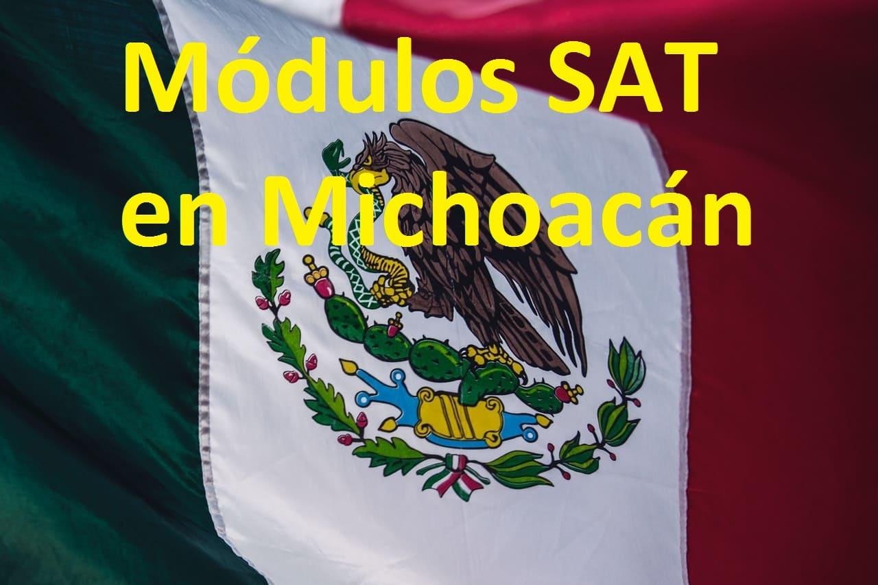 Sacar cita en el SAT Michoacán