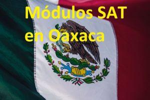 Sacar cita en el SAT Oaxaca