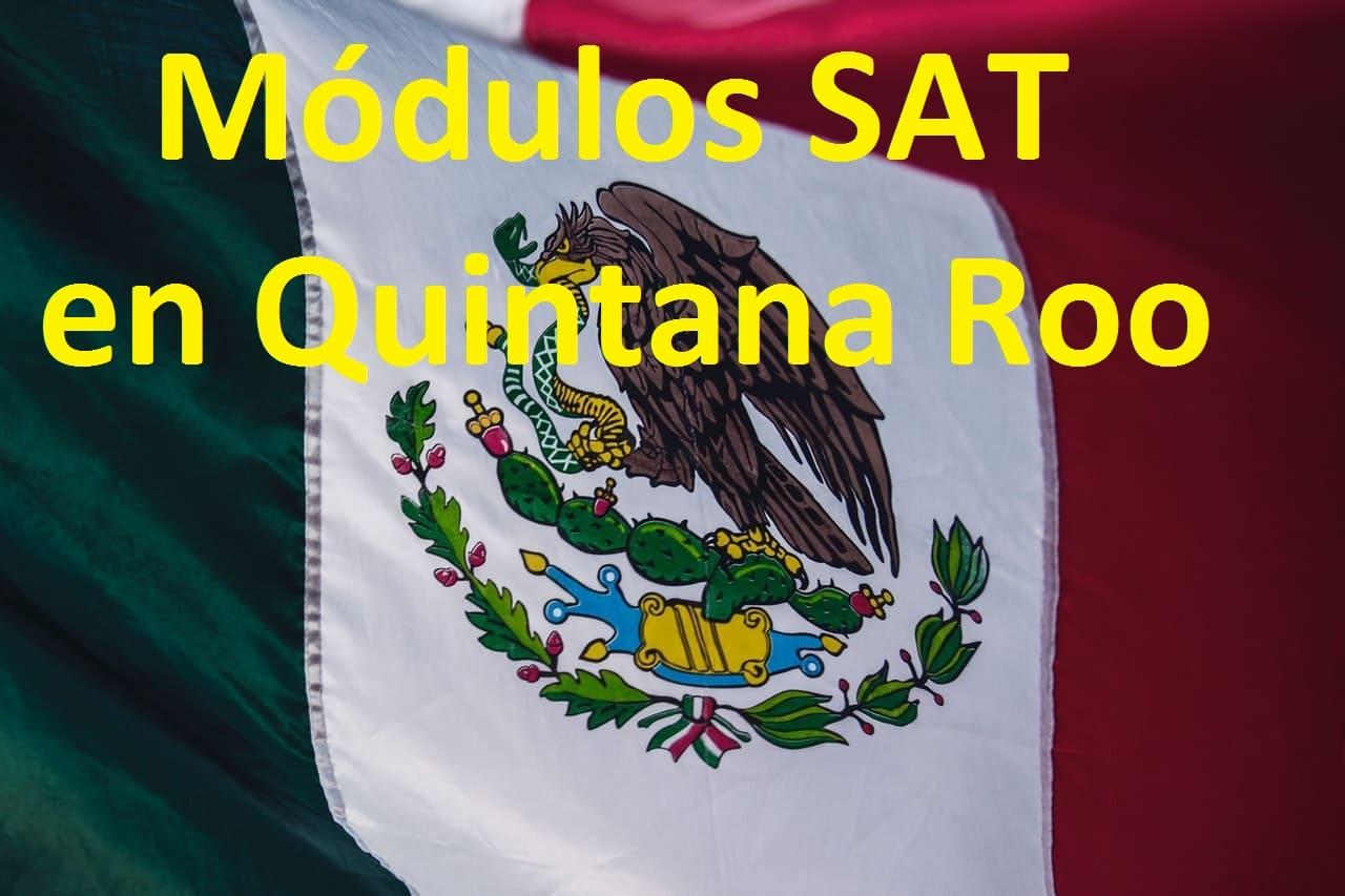Sacar cita en el SAT Quintana