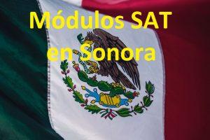 Sacar cita en el SAT Sonora