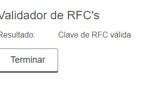 validar rfc